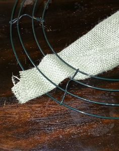 Diy wreaths for barn doors  Make a Burlap Wreath - wikiHow I want to make this!!!