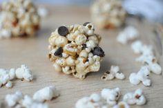 Quick and Easy Popcorn Balls via Brit + Co.
