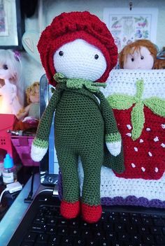 Rose Roxy made by Amber / Crochet pattern by Zabbez