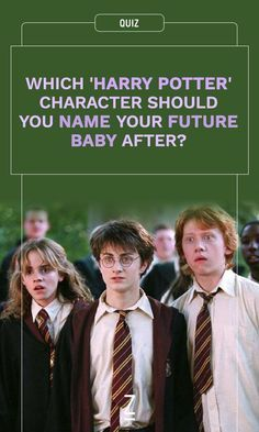 Hermione? Draco? Ron? Find out what you should name your baby with our Harry Potter quiz!