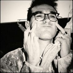 So much cuteness from Morrissey <3