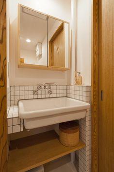 洗面台(北欧ミッドセンチュリー) - バス/トイレ事例|SUVACO(スバコ)