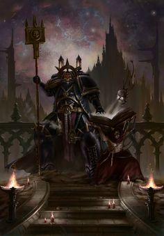 Warhammer 40000,warhammer40000, warhammer40k, warhammer 40k, ваха, сорокотысячник,фэндомы,Chaplain,Space Marine,Adeptus Astartes,Imperium,Империум,Sergey Nagornov,Servo Skull