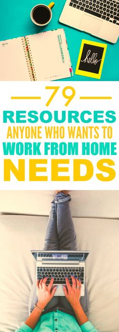 These 79 resources to help you work form home are THE BEST! I'm so glad I found this AMAZING post, it's so helpful! The writer really gives some great ideas and ways to make working form home SO MUCH easier!