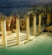 The most probable place where Joesph worked: Sepphoris (BiblePlaces.com)