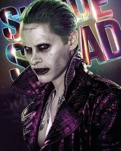 Another incredible photo of Jared Leto as the Joker.