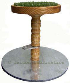 Blocks & Perches • Falcon Fabrication • Quality Falconry Equipment ...