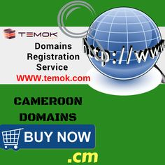 Cameroon Domains for #African Country; .cm with one year minimal term period. Get it today:  https://www.temok.com/country-domains/cameroon-.cm