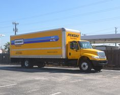Penske Moving trucks available at Texas Maxi Mini Storage for local or 1 way moves.