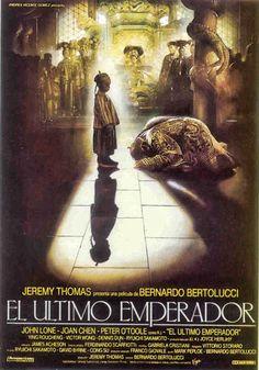 El Último Emperador, 1987, ilustración de Renato Casaro