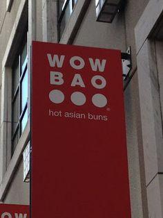 Hot Asian buns. Ha! Get it? No?