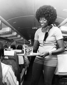 The air hostess with the mostest: Awesome images of vintage stewardess uniforms | Dangerous Minds