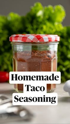 Homemade Dry Mixes, Homemade Spice Blends, Homemade Tacos, Homemade Taco Seasoning, Homemade Spices, Seasoning Mixes, Spice Mixes, Dandelion Recipes, Home Canning Recipes