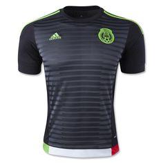 19e31f7794f Mexico 2015 Home Soccer Jersey Mexico Jersey, Adidas Football, Football  Shirts, Football Jerseys