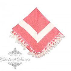 Elmas Two Seater Berry Red Turkish Towel Peshtemal - The Original Turkish Towels Beach Blanket, Bubblegum Pink, Turkish Towels, Berry, The Originals, Cotton, Beach Towel, Bury, Beach Quilt