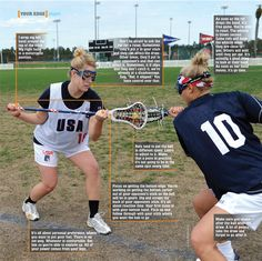 Your Edge: Scrape and Chase to Win the Draw - Lacrosse Magazine