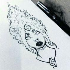 Flame Princess illustration by Monicauniverse… Dark Art Drawings, Pencil Art Drawings, Art Drawings Sketches, Cool Drawings, Abenteuerzeit Mit Finn Und Jake, Illustration Art, Princess Illustration, Art Sketchbook, Love Art