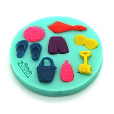 Food Gradesea Hawaii Summer Sandy Beach Mould Assorted Fondant Icing Silicone Candy Mold Sugar Craft Cake Decoration Moulds Non Stick Sugar Paste Chocolate Fondant Resin Polymer Clay Gum Paste Molds fanmecy http://www.amazon.com/dp/B00R8HTBOY/ref=cm_sw_r_pi_dp_hn5bvb01MSACS