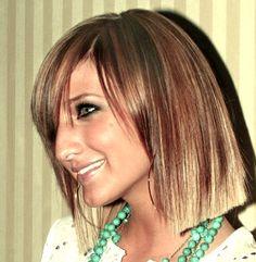 Ashlee Simpson #bob #hair