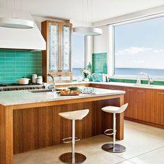 Incroyable 10 Most Popular Kitchens. Turquoise KitchenAqua KitchenBeach House ...