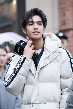 Cute Korean Boys, Asian Boys, Asian Men, Korean Men Hairstyle, Song Wei Long, Chinese Man, Handsome Anime, Asian Hair, Asian Actors