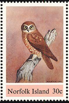 Morepork sellos - principalmente imágenes - formato de la galería