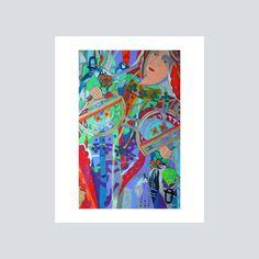 Queen of TreesWall DecorWall ArtTarot by DeniseWeaverRoss on Etsy