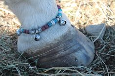 These HOOF BEATS are awesome!! Clip them around your horses fetlocks when you are riding and listen to the soothing  jing,jing,jing!