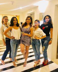 Fun space 🤩🎉 Bollywood Fashion, Bollywood Actress, Raveena Tandon Hot, Swag Outfits, Fashion Outfits, Young And The Reckless, Aditi Bhatia, Tashan E Ishq, Bridesmaid Dresses 2018