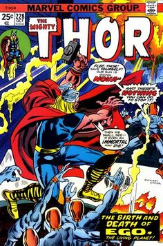 Cover for Thor (Marvel, October 1974) #228