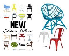 Coleção IFD2 Visite nossas mídias: Facebook.com/ifdesignedecor Pinterest: pinterest.com/ifd2 Tumblr: ifd2.tumblr.com  #collection #chairs #new #ifd2 #colors #decor #style #cadeiras #poltronas #design #decoração #inspiration #vintage #decorstyle #tumblr#facebook #pinterest