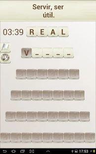 Juego de Palabras en Español: miniatura de captura de pantalla