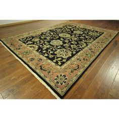 Manhattan One of a Kind / Pink Rajasthani Hand-knotted Area Rug