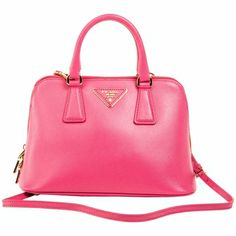 70bda3d2821d Prada Mini Saffiano Leather Dome Bag BL0838 In Fuchsia Prada Bag, Handbags  Michael Kors,