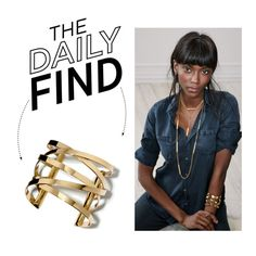 The Daily Find: Nordstrom Wide Cuff on Polyvore