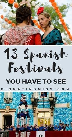 13 Spanish Festivals That Will Make You Want to Visit Spain - The best festivals in Spain, from La Tomatina, to San Fermin and everything in between. Menorca, Malaga, Granada, Valencia, Spanish Festivals, Local Festivals, Festival Packing List, Ibiza, Madrid