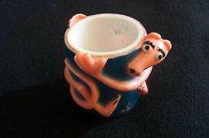Vintage The Pink Panther Plastic Egg Cup