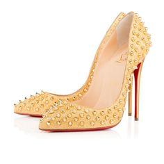 d726143143a1 Shoes - Follies Spikes - Christian Louboutin Glitter High Heels