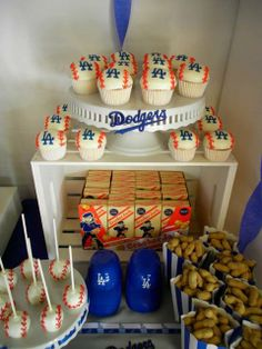 """Ethan's Dodgers Baseball Party 