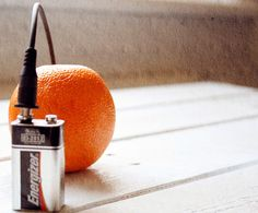 Fruity Battery! {A Quick, Easy Science Fair Project}