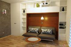 Atraktivní bydlení na 30 metrech čtverečních.