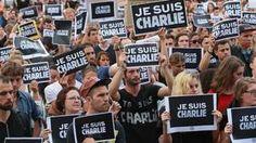 Protest in Frankrijk. #jesuisCharlie