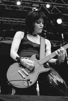 Joan Jett....a great guitarist and a role model for singer/song writers everywhere!