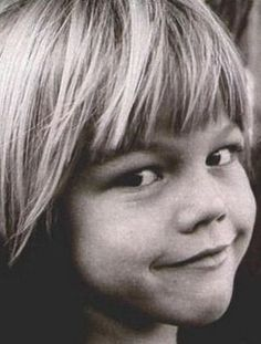 Leonardo Dicaprio as a child