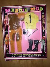 """VINTAGE 1968 MADDIE MOD AMERICA'S SWINGINGEST CLOTHES (FITS 11 1/2"""")   NIP  /-"""