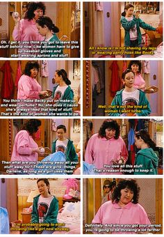 Roseanne For all its flaws, this show had moments, lots of them, that would help you be a better human.