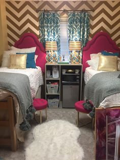 Perfect Ole Miss Dorm Room For Youngest Daughter ❤️