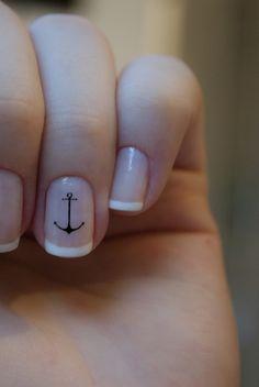 anchor nails #nails #artnails