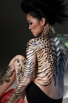 A superb design for a tattoo that shows the instinctive and intuitive nature of women is animal prints like leopard or owl. Description from tattoosprint.com. I searched for this on bing.com/images