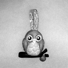 owl ornament  Christmas tree Decoration by Wishcraft2013 on Etsy, £3.00